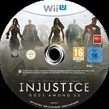 Injustice:Gods Among Us WiiU disc (AJSPWR)