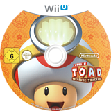 Captain Toad: Treasure Tracker WiiU disc (AKBP01)