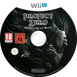 Project Zero: Maiden of Black Water WiiU disc (AL5P01)