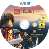 LEGO The Hobbit WiiU disc (ALHPWR)