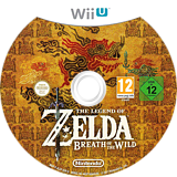The Legend of Zelda: Breath of the Wild WiiU disc (ALZP01)