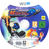 Mighty No. 9 WiiU disc (AMQPKM)