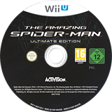 The Amazing Spider-Man Ultimate Edition WiiU disc (AMZP52)