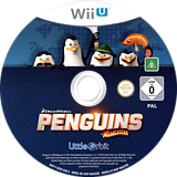 Penguins of Madagascar WiiU disc (APGPVZ)