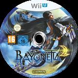 Bayonetta 2 WiiU disc (AQUP01)