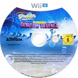 SpongeBob SquarePants: Plankton's Robotic Revenge WiiU disc (AS5P52)