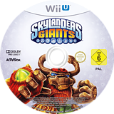 Skylanders: Giants WiiU disc (ASLP52)