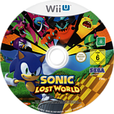 Sonic Lost World WiiU disc (ASNP8P)