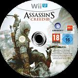 Assassin's Creed III WiiU disc (ASSP41)
