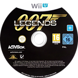 007 Legends WiiU disc (ASVP52)