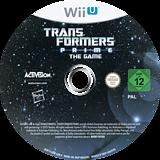 Transformers Prime: The Game WiiU disc (ATRP52)