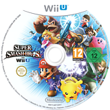 Super Smash Bros. for Wii U WiiU disc (AXFP01)