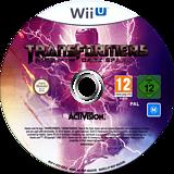 Transformers: The Dark Spark WiiU disc (AYEP52)