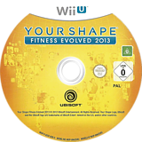 Your Shape: Fitness Evolved 2013 WiiU disc (AYSP41)