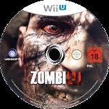 ZombiU WiiU disc (AZUD41)