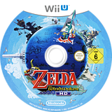 The Legend of Zelda: The Wind Waker HD WiiU disc (BCZP01)