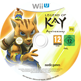 Legend of Kay Anniversary WiiU disc (BLKP6V)