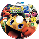Pac-Man and the Ghostly Adventures 2 WiiU disc (BPMPAF)
