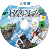 Rodea the Sky Soldier WiiU disc (BRDPNS)