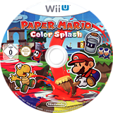 Paper Mario: Color Splash WiiU disc (CNFP01)