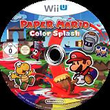 Paper Mario: Color Splash WiiU disc (CNFP01)
