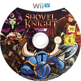 Shovel Knight WiiU disc (WKNPAY)