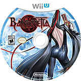 Bayonetta WiiU disc (AAFE01)