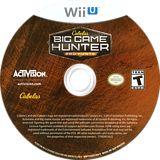 Cabela's Big Game Hunter: Pro Hunts WiiU disc (ACEE52)