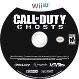 Call of Duty: Ghosts WiiU disc (ACPE52)