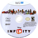 Disney Infinity WiiU disc (ADSE4Q)
