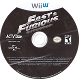 Fast and Furious: Showdown WiiU disc (AF6E52)