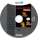 NES Remix Pack WiiU disc (AFDE01)
