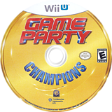 Game Party Champions WiiU disc (AGPEWR)