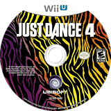 Just Dance 4 WiiU disc (AJDE41)
