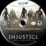 Injustice: Gods Among Us WiiU disc (AJSEWR)