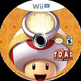 Captain Toad: Treasure Tracker WiiU disc (AKBE01)