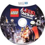 The LEGO Movie Videogame WiiU disc (ALAEWR)
