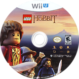 LEGO The Hobbit WiiU disc (ALHEWR)
