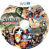 Marvel Avengers: Battle for Earth WiiU disc (AMVE41)