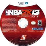 NBA 2K13 WiiU disc (ANBE54)