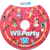 Wii Party U WiiU disc (ANXE01)