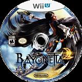 Bayonetta 2 WiiU disc (AQUE01)