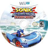 Sonic & All-Stars Racing Transformed WiiU disc (AS2E8P)