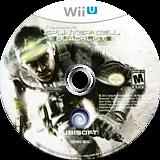 Tom Clancy's Splinter Cell Blacklist WiiU disc (AS9E41)