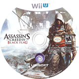 Assassin's Creed IV: Black Flag WiiU disc (ASBE41)