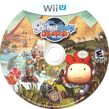 Scribblenauts Unlimited WiiU disc (ASCEWR)