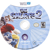 The Smurfs 2 WiiU disc (ASUE41)