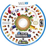 New Super Mario Bros. U + New Super Luigi U WiiU disc (ATWE01)