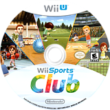 Wii Sports Club WiiU disc (AWSE01)