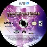 Transformers: Rise of the Dark Spark WiiU disc (AYEE52)
